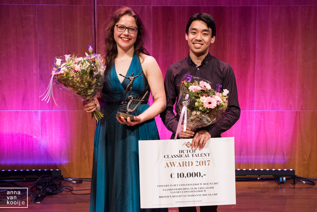 Duo Sihan & Brackman wint Dutch Classical Talent Award 2017